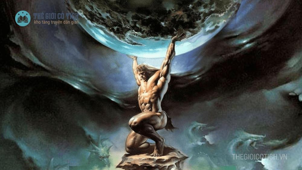 Truyện thần thoại Thần Trụ Trời
