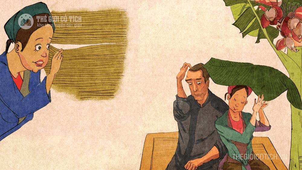 Hình ảnh con gái thầy Lưu và người anh