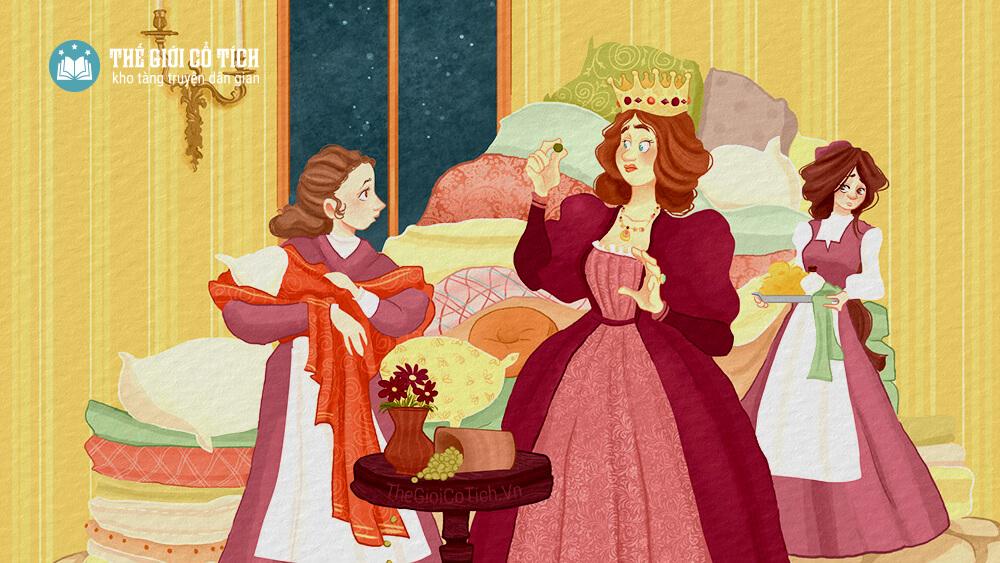Truyện nàng công chúa và hạt đậu