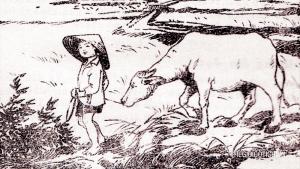 Ngày công đầu tiên của cu Tý, tác giả Bùi Hiển