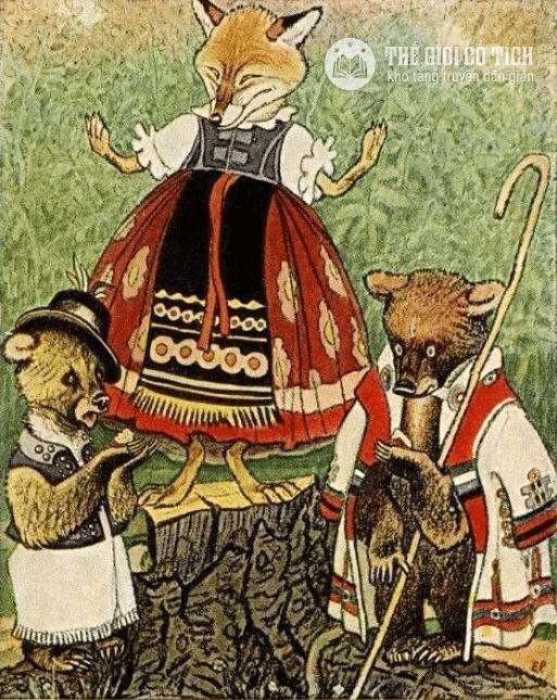 Truyện ngụ ngôn Hai chú gấu tham ăn