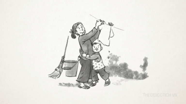 Bài thơ Cô Tấm của mẹ sáng tác Lê Hồng Thiện