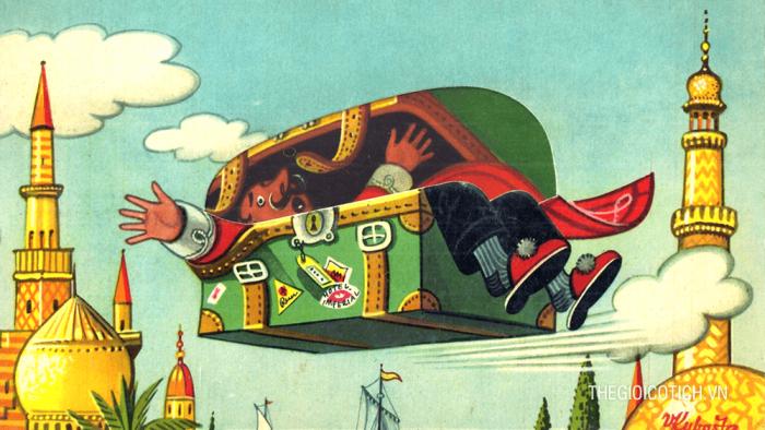 Chiếc hòm bay – Truyện cổ Andersen