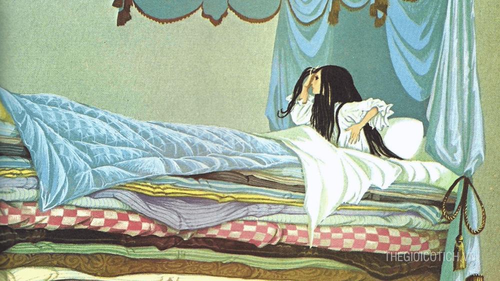 Nàng công chúa và hạt đậu