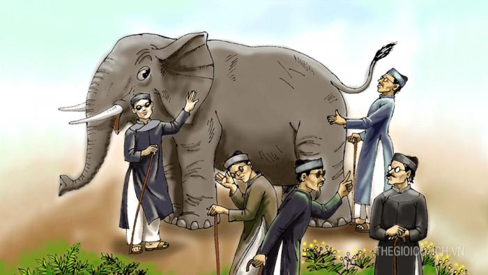 Thầy bói xem voi [Truyện vui dân gian]