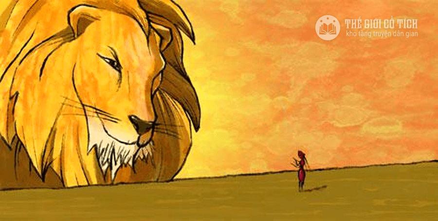 Câu chuyện Sư tử và kiến càng