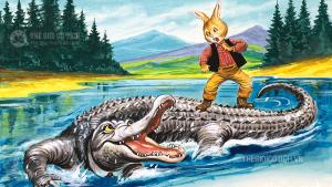 Chú Thỏ tinh khôn và con Cá Sấu