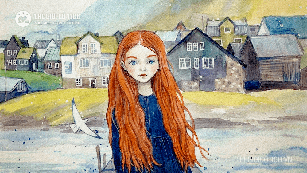 Cô gái tóc dài