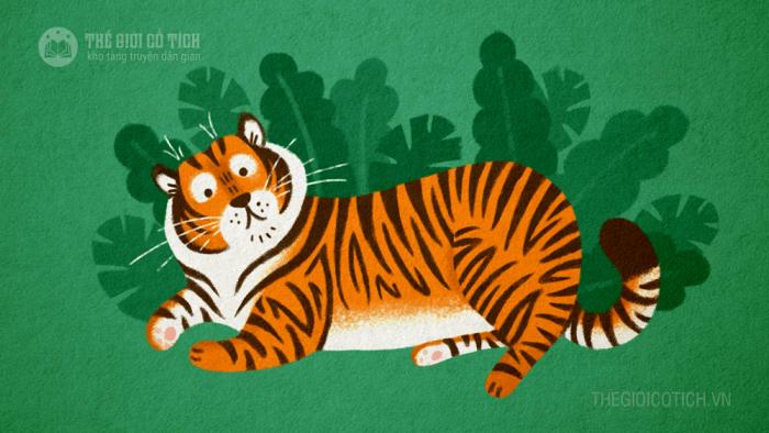 Hổ và các con vật nhỏ bé [truyện ngụ ngôn]