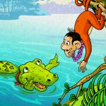 Khỉ và Cá Sấu