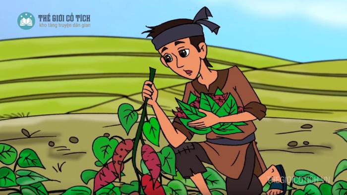 Sự tích Cây khoai lang [truyện kể cho bé]