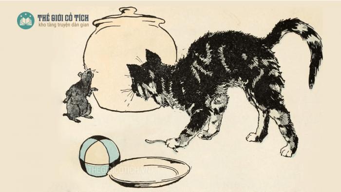 Sự tích con mèo [truyện cổ tích về loài vật]