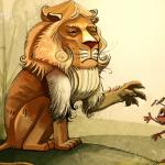 Sư tử và kiến càng