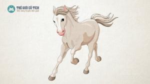Truyện Ngựa Trắng không nghe lời mẹ