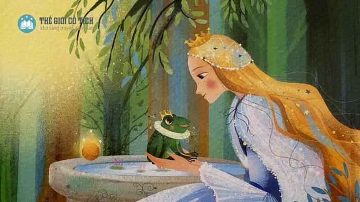 Hoàng tử Ếch và công chúa [Truyện cổ Grimm]