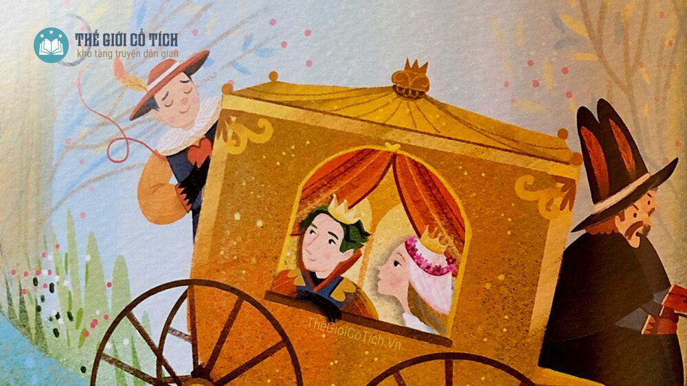 Hoàng tử Ếch và công chúa