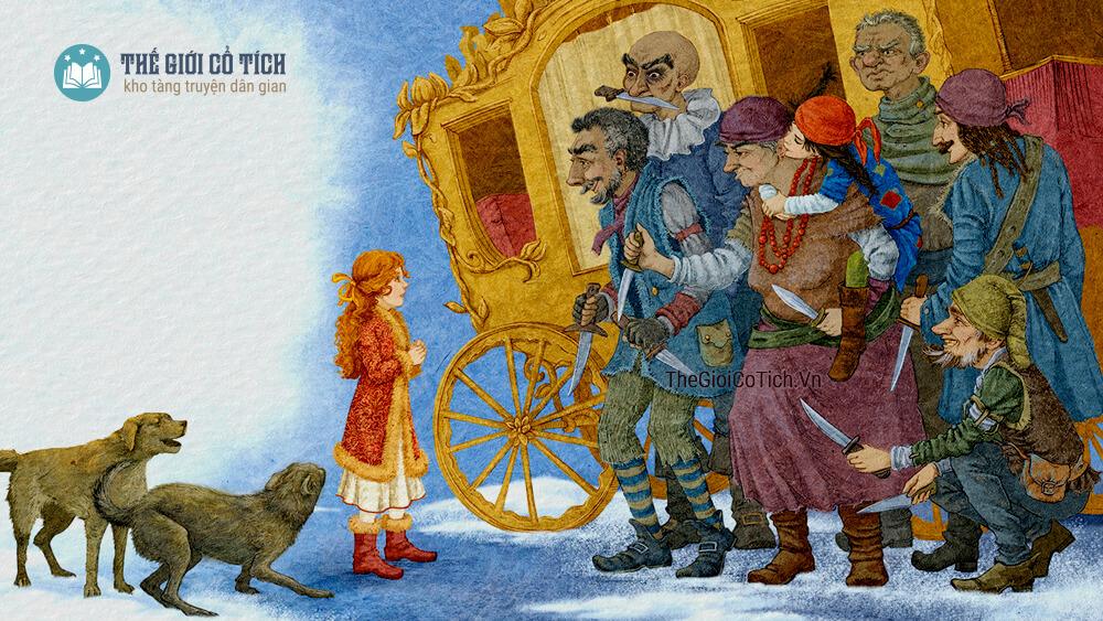 Bà Chúa Tuyết - Truyện cổ Andersen