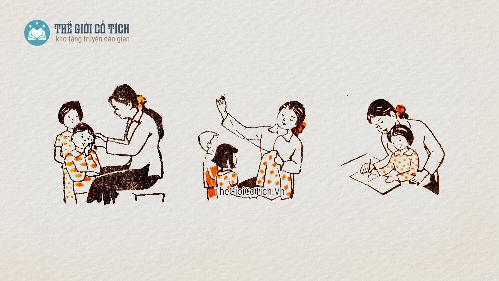 Bài thơ Bàn tay cô giáo
