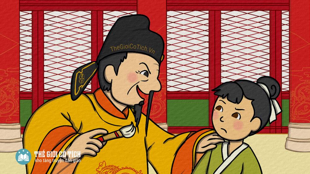 Cây bút thần - Truyện cổ tích Trung Quốc
