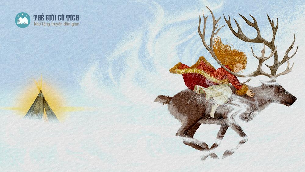 Nữ Chúa Tuyết - Truyện cổ Andersen