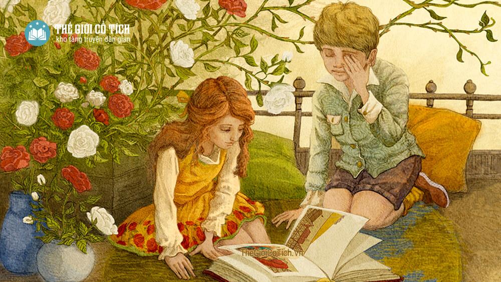 Truyện cổ Andersen - Bà Chúa Tuyết