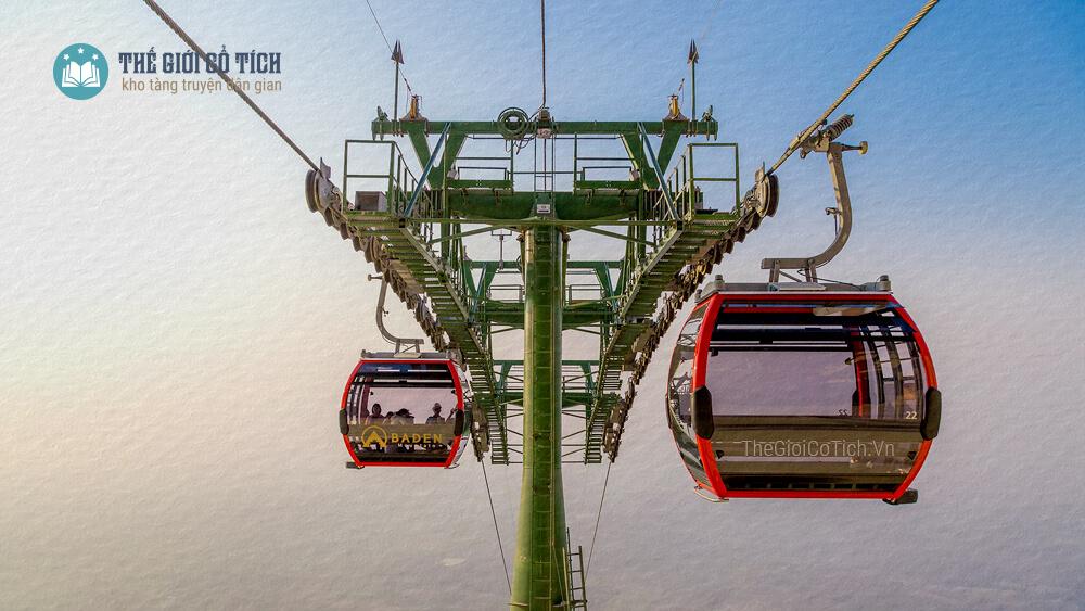 Tuyến cáp treo Vân Sơn trong dự án núi Bà Đen - Sun Group