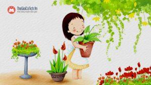 Bài thơ Hoa kết trái