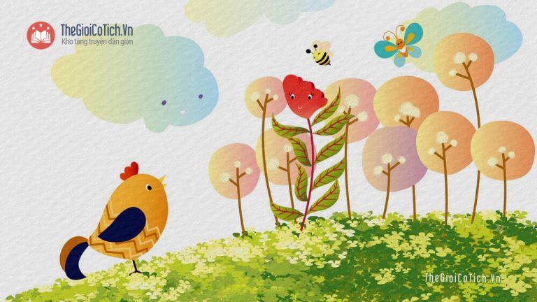 Bài thơ Hoa mào gà