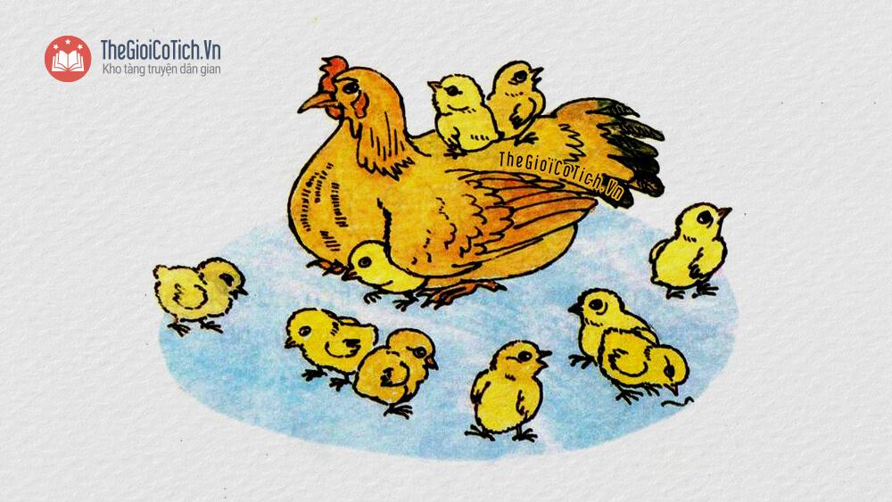 Bài thơ Mười quả trứng tròn