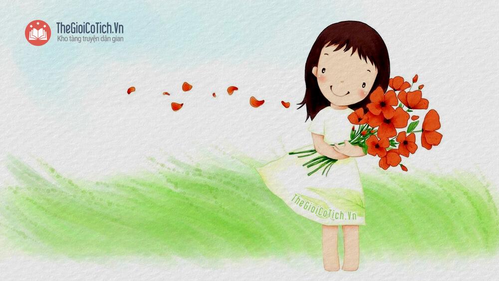 Hình ảnh bài thơ Hoa kết trái mầm non