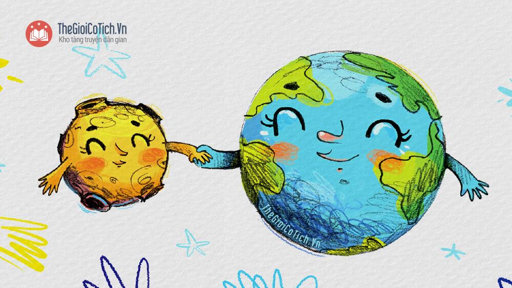 Mặt Trăng và Trái Đất