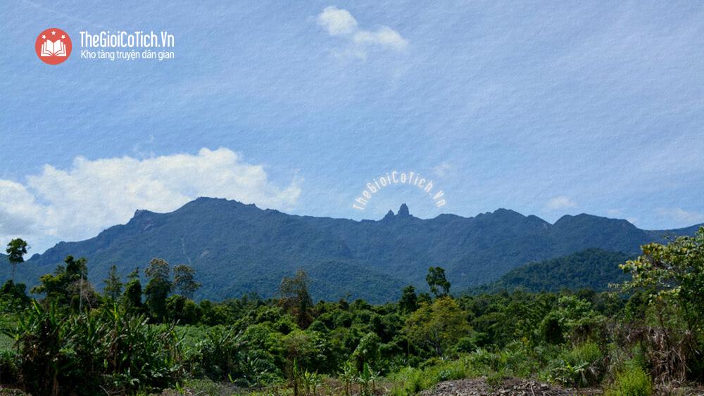 Sự tích núi Mẫu Tử