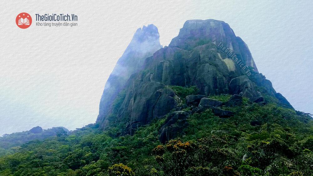 Truyện truyền thuyết Sự tích núi Mẫu Tử