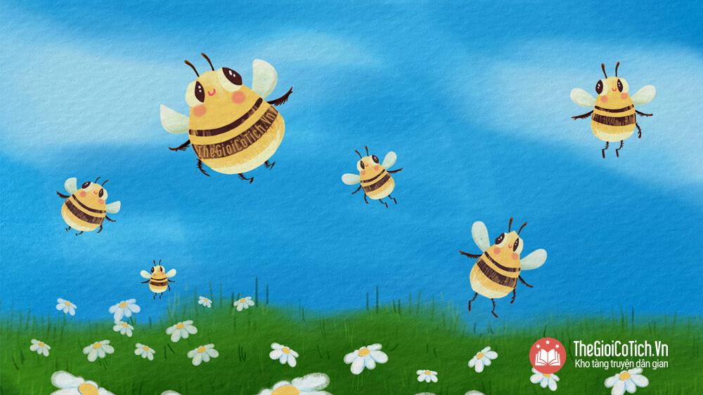 Câu chuyện Sự tích con Ong