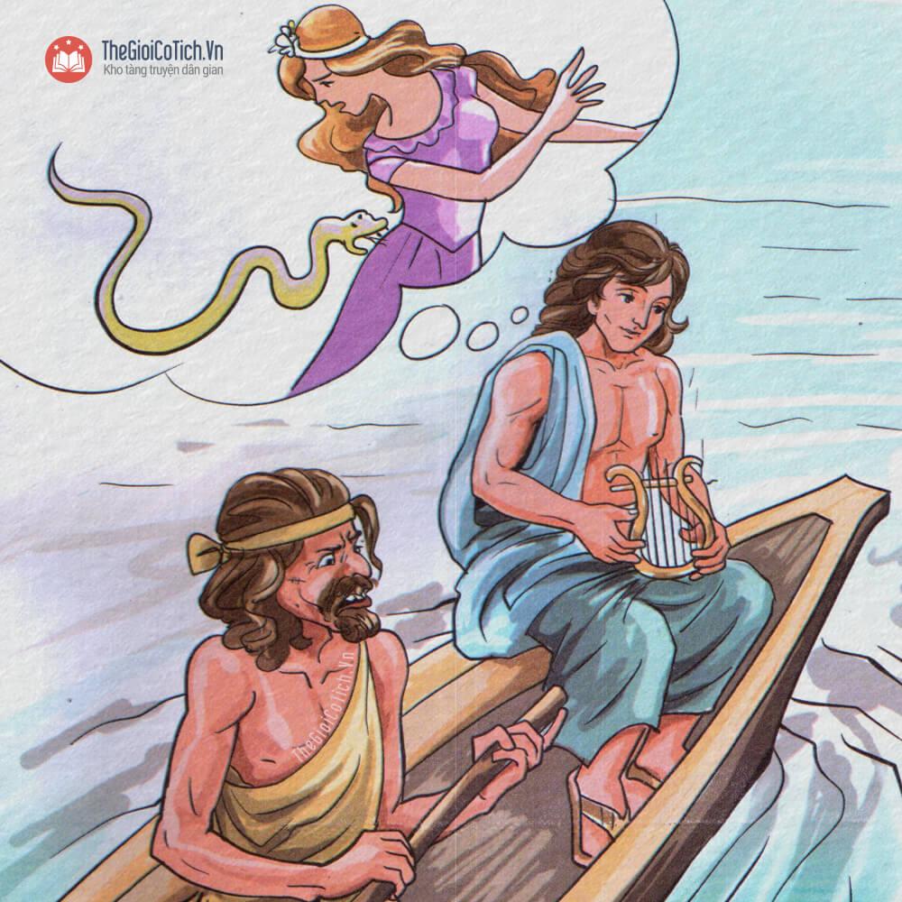 Kể chuyện chàng Oóc-phê và cây đàn Lia