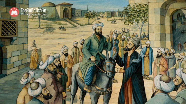 Sây-ba và con ngựa của vua Iran