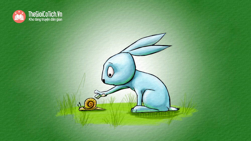 Sên chạy thi với Thỏ