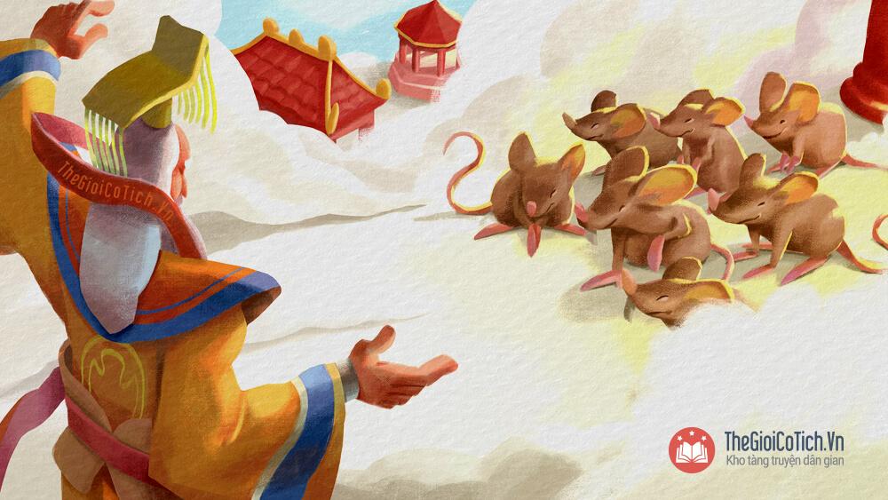 Truyện Sự tích Mèo ghét Chuột