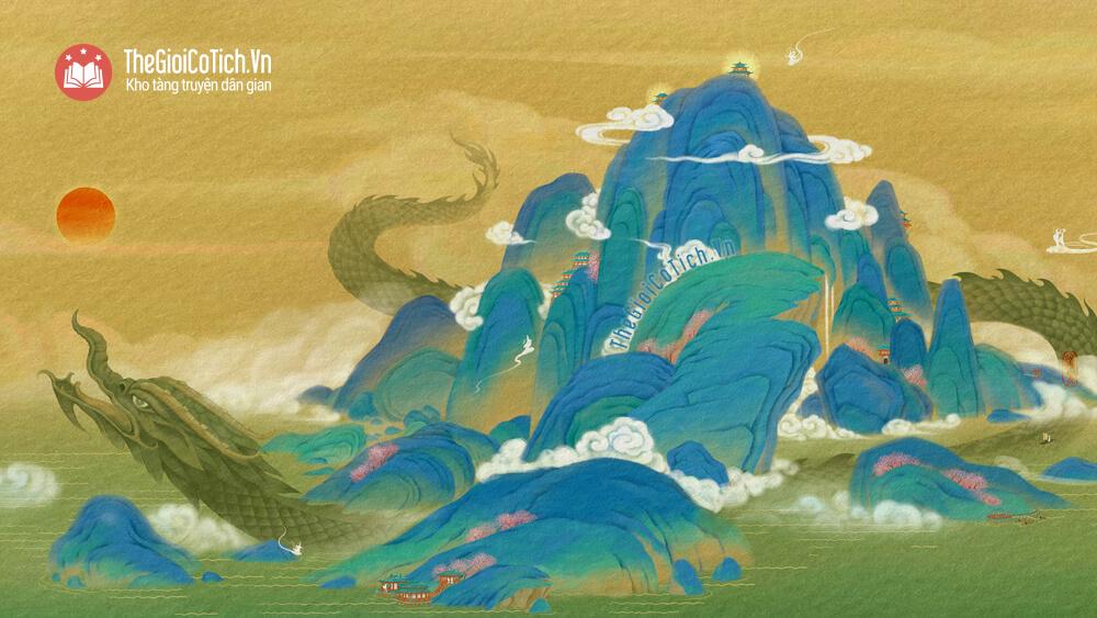 Truyện sự tích sông Kinh Thầy