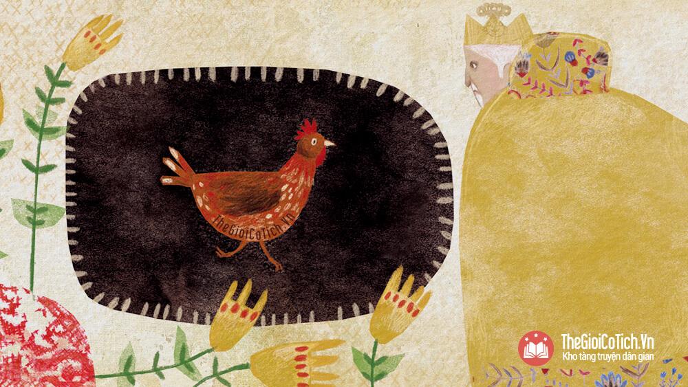 Câu chuyện Con gà trống chân chì