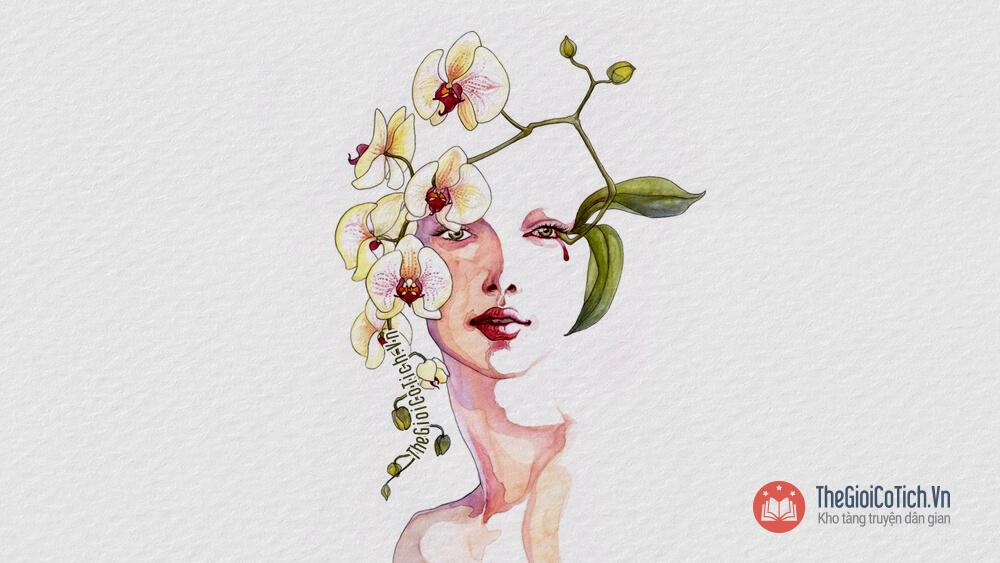 Câu chuyện Sự tích hoa Phong Lan