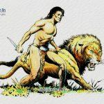 Con Sư Tử già và người thợ rừng