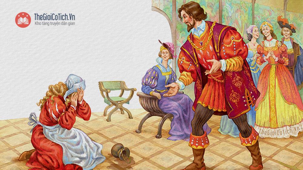 Truyện cổ tích Vua Quạ