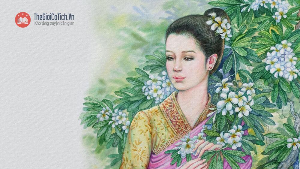 Truyện Sự tích điệu múa công nước Lào