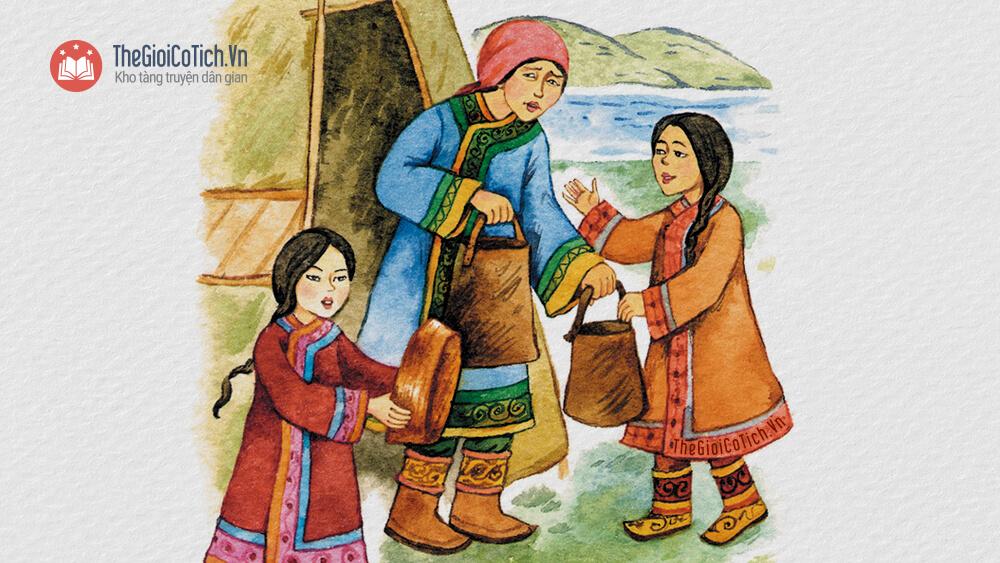 Câu chuyện Sự tích con Thiên Nga