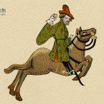 Con ngựa mù
