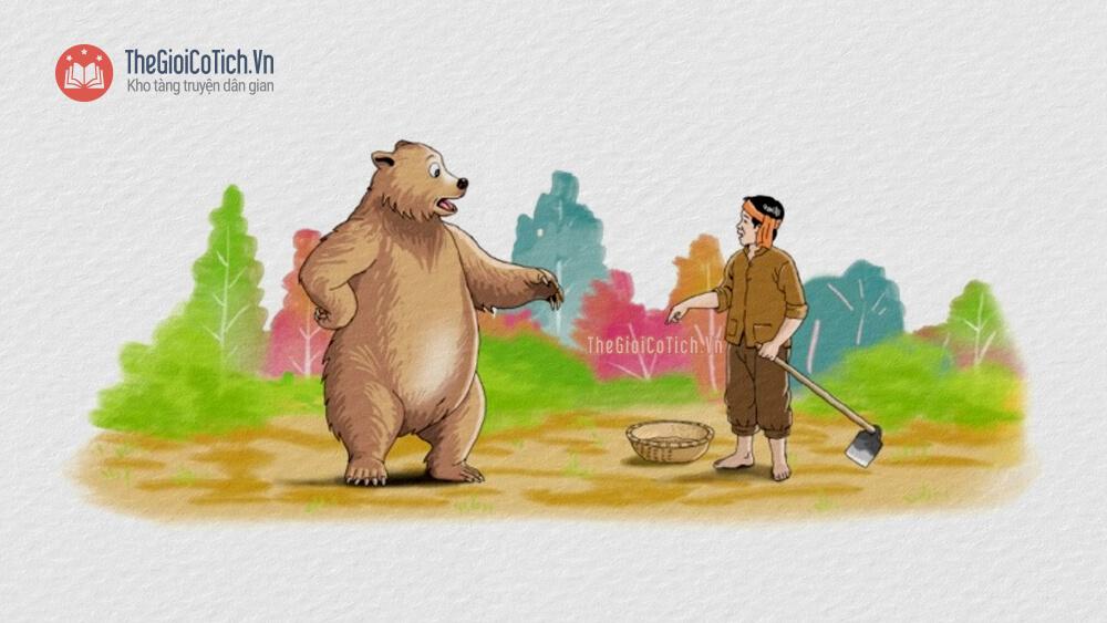 Bác nông dân và con Gấu