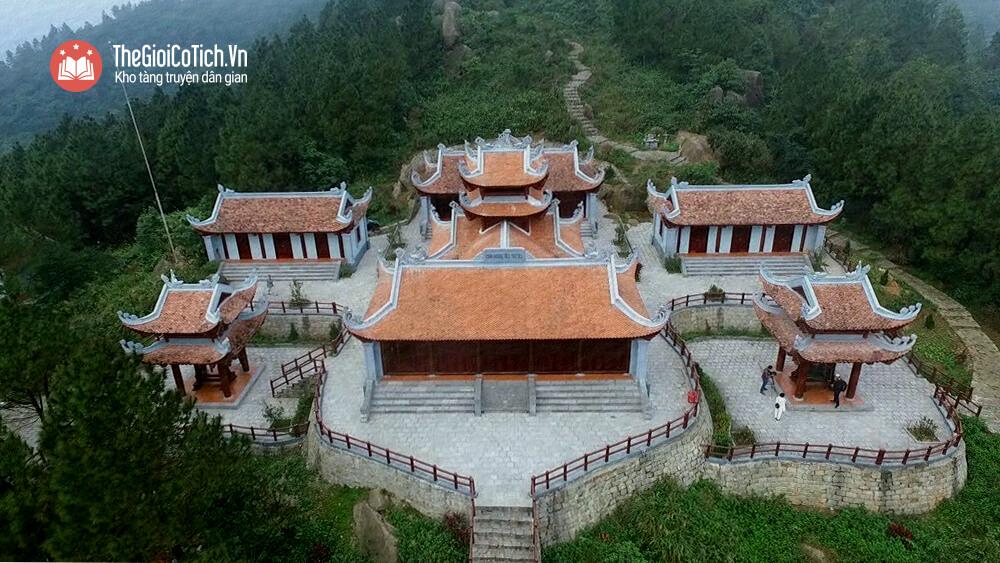 Truyện Sự tích chùa Hương Tích