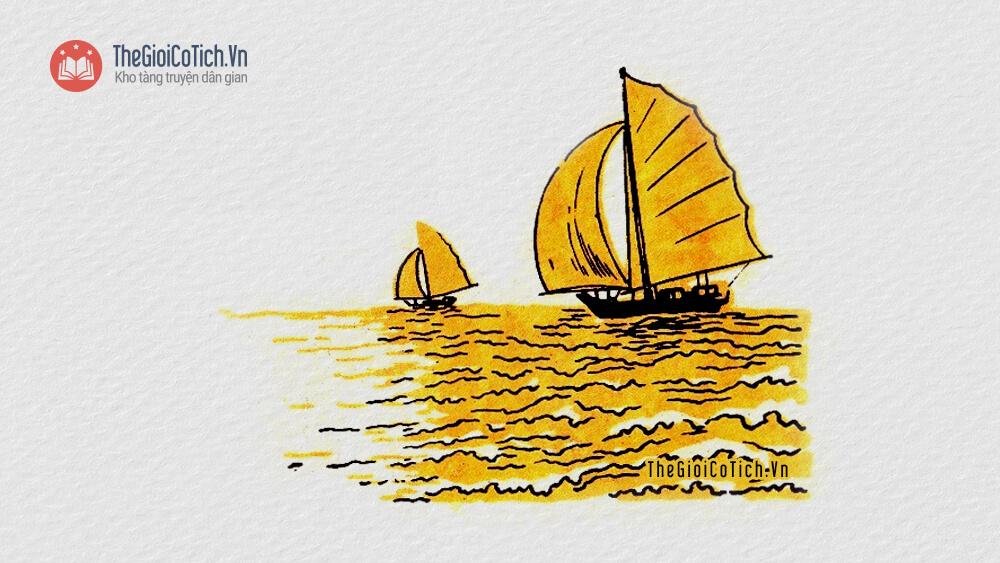 Bài thơ Thuyền buồm