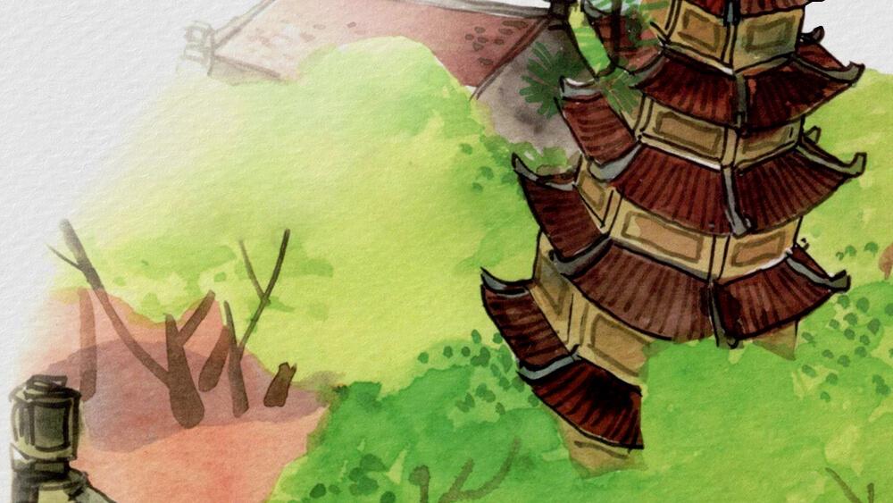 Truyện truyền thuyết Sự tích tháp Báo Ân